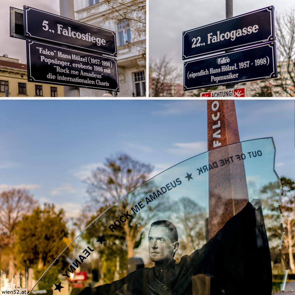 Falco's Spuren in Wien  Zentralfriedhof