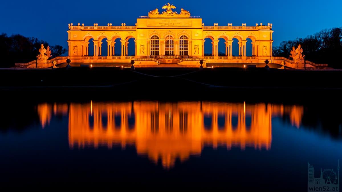 Gloriette im Schlossgarten Schönbrunn