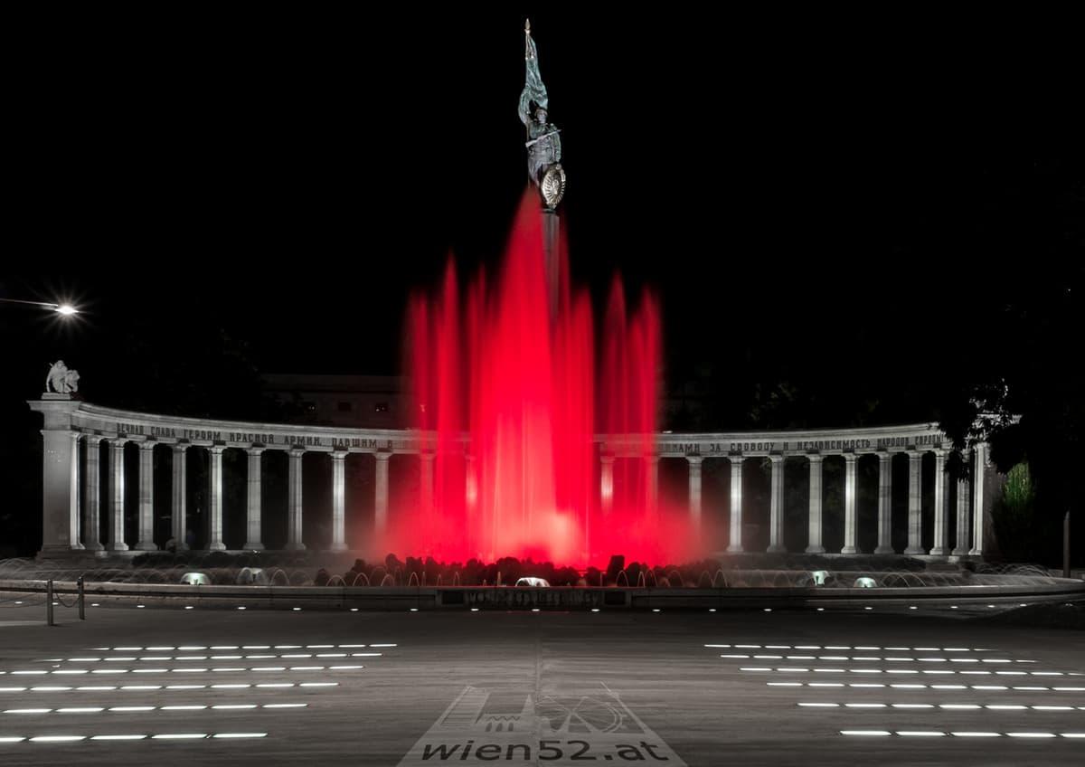 Hochstrahlbrunnen am Schwarzenbergplatz