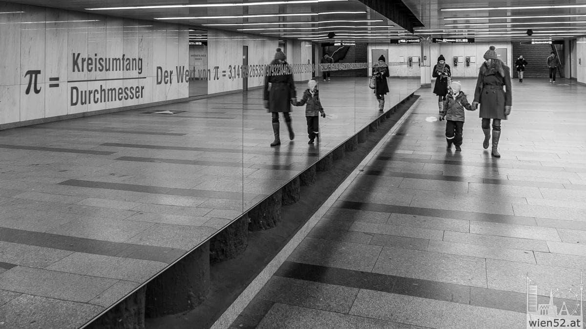 Kunstprojekt Pi  Opernpassage