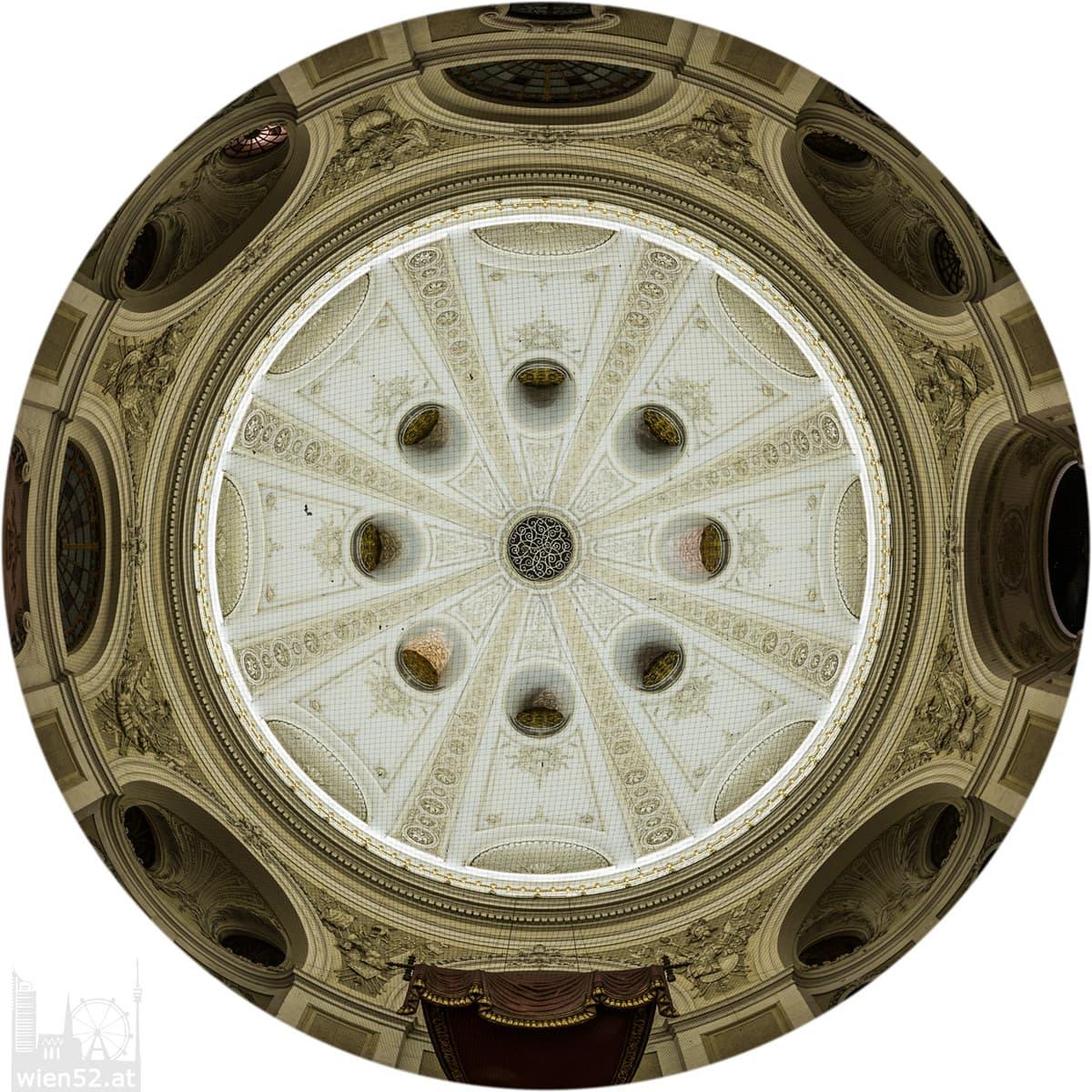 Michaelerkuppel innen  Hofburg
