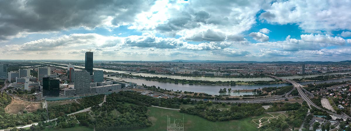 Blick über Wien  Donauturm