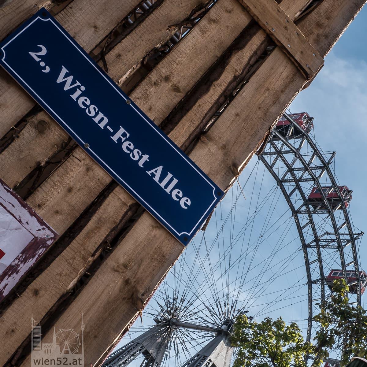 Wiener Wiesn auf der Kaiserwiese 2013