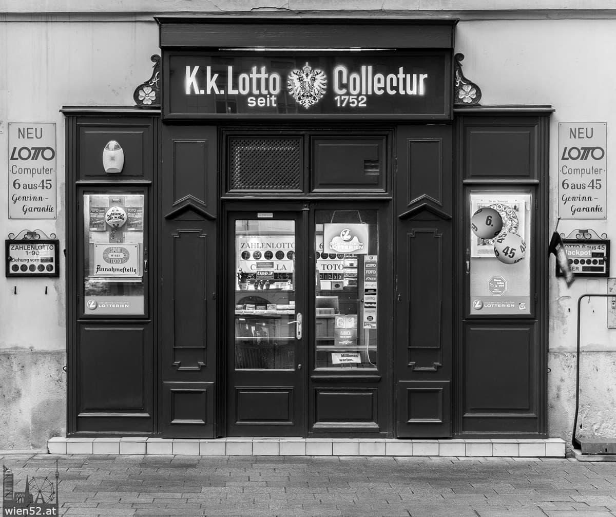 älteste Lottoannahmestelle österreichs  Stephansplatz
