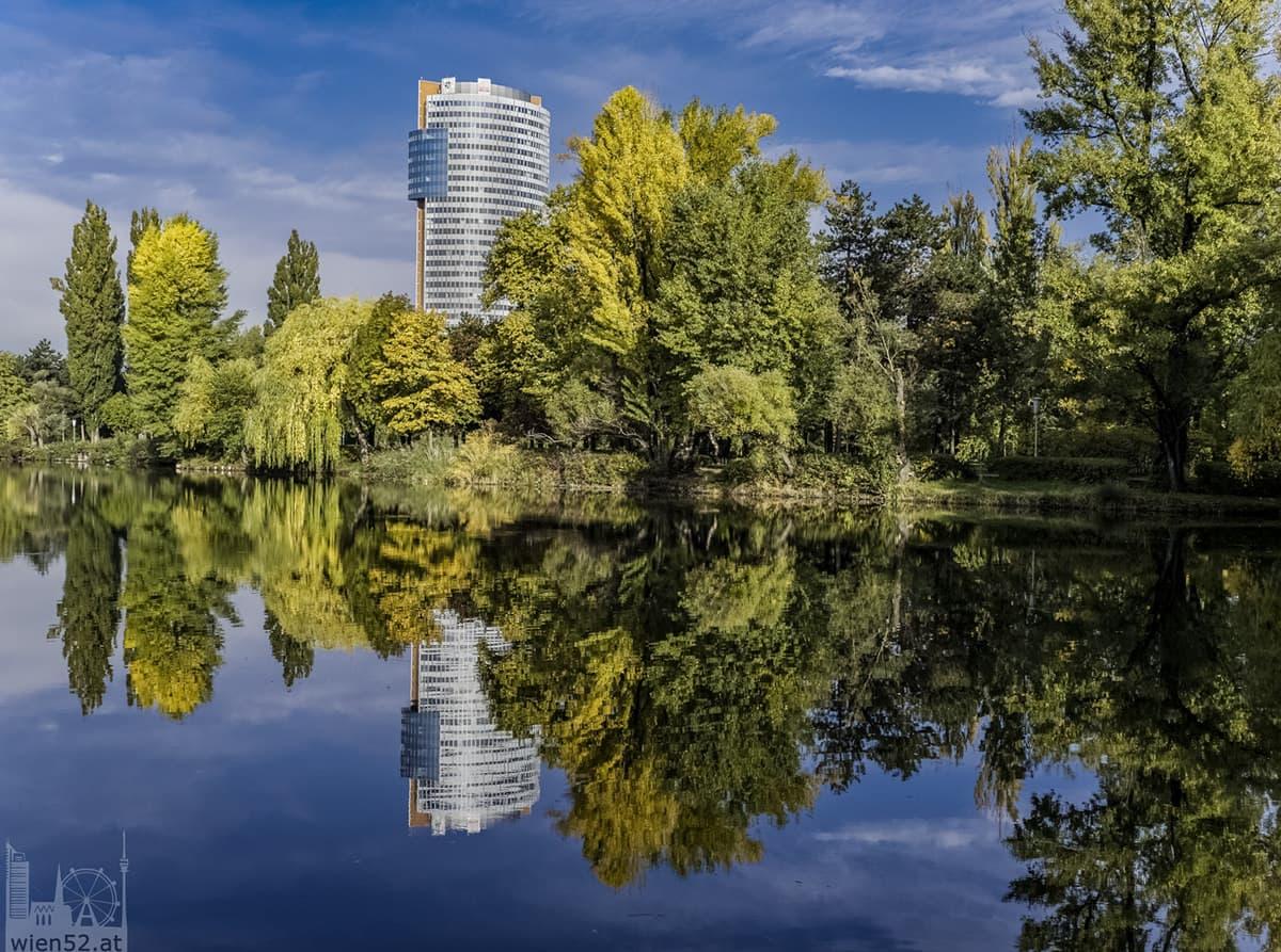 Herbst im Floridsdorfer Wasserpark