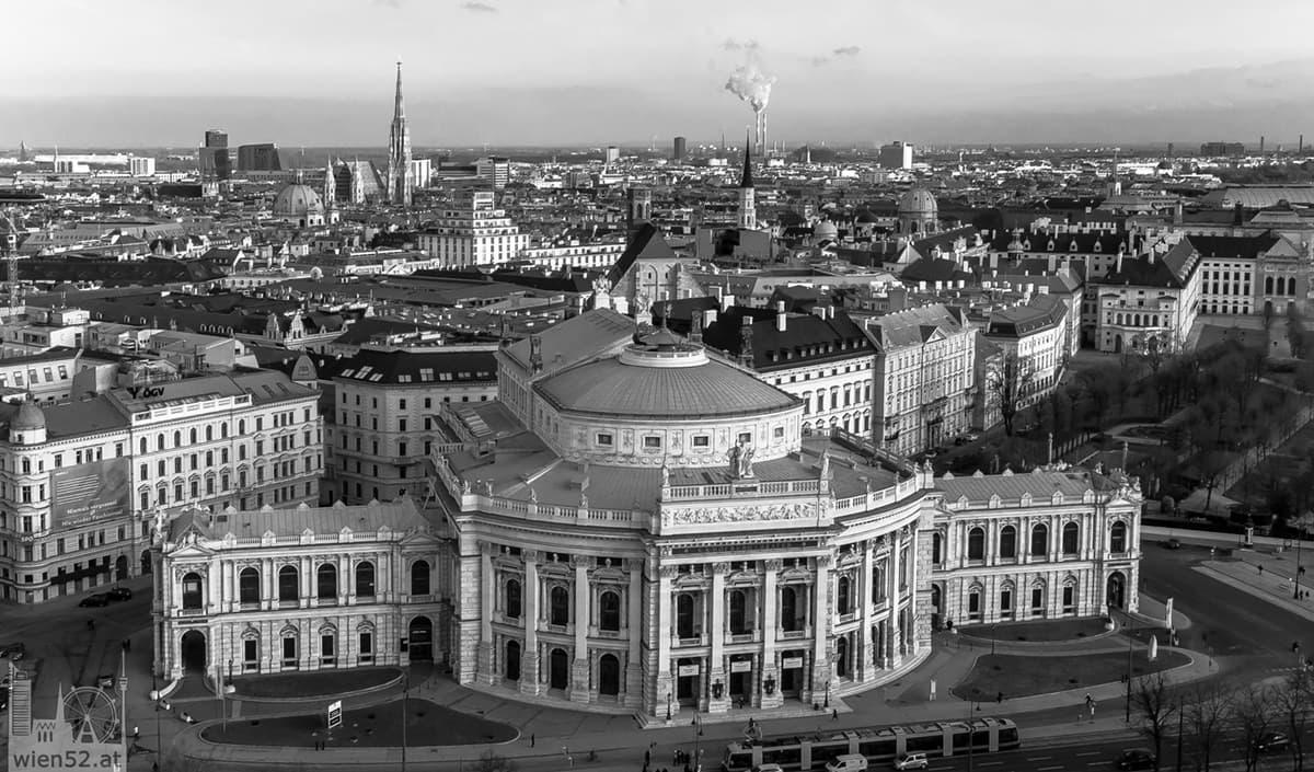 Burgtheater vom City Skyliner