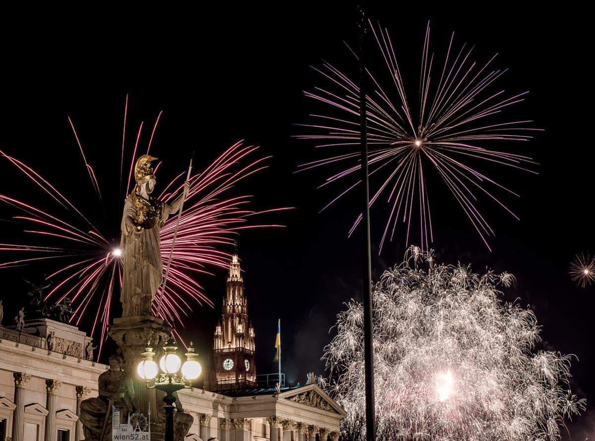 Jahreswechsel  Parlament