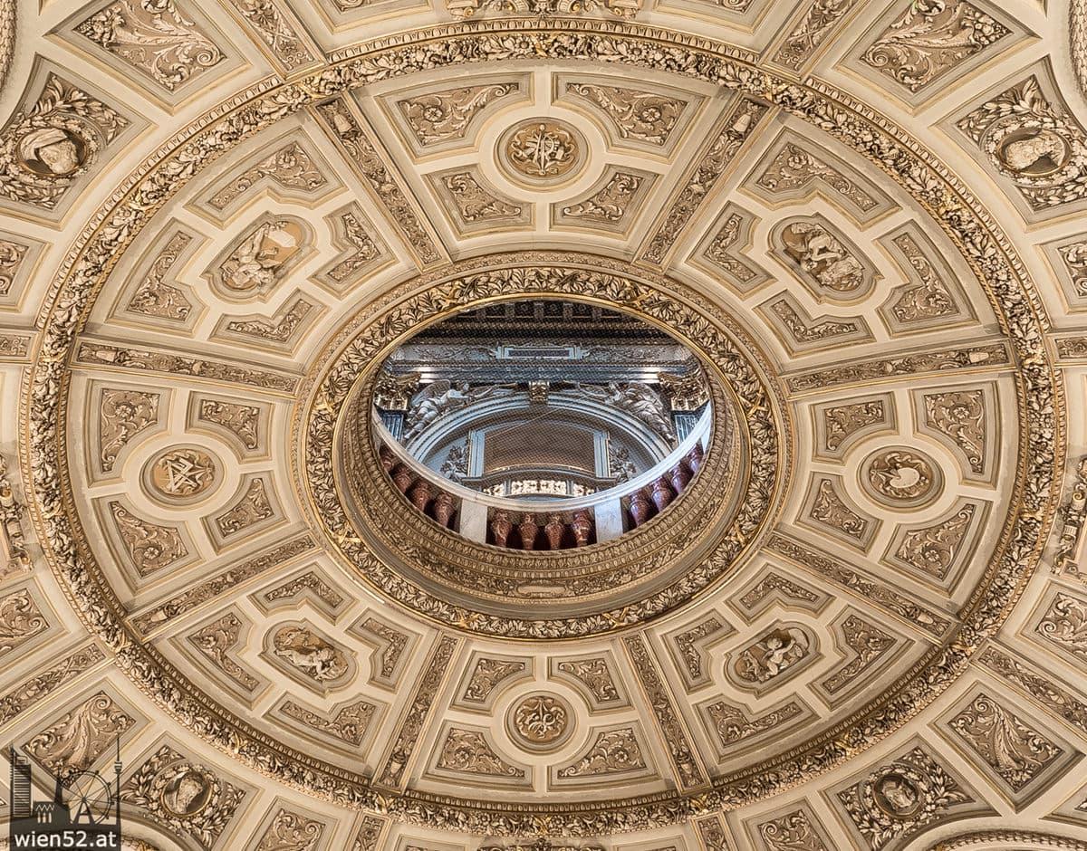 Kunsthistorisches Museum Kuppel-Durchblick