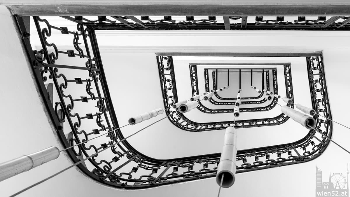 Stiegenhaus Altbau Wien Innere Stadt