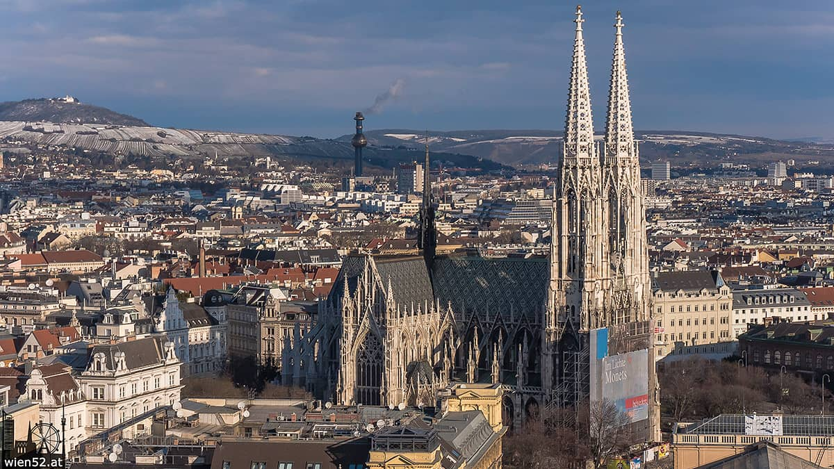 Votivkirche vom City Skyliner