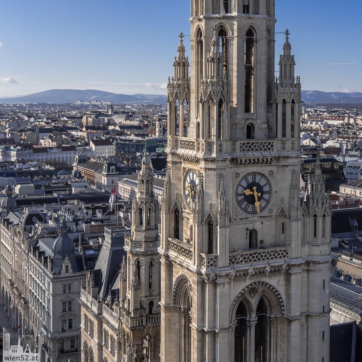 Wiener Rathaus vom City Skyliner