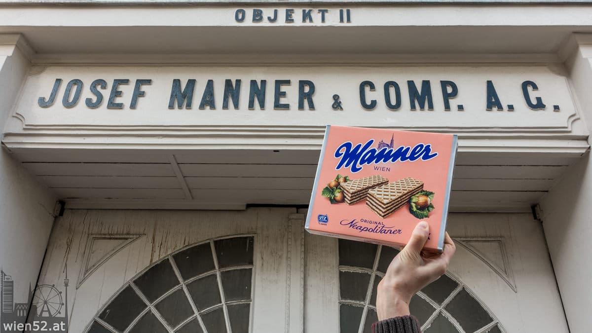 Manner Schnitten  Manner-Werk Wien