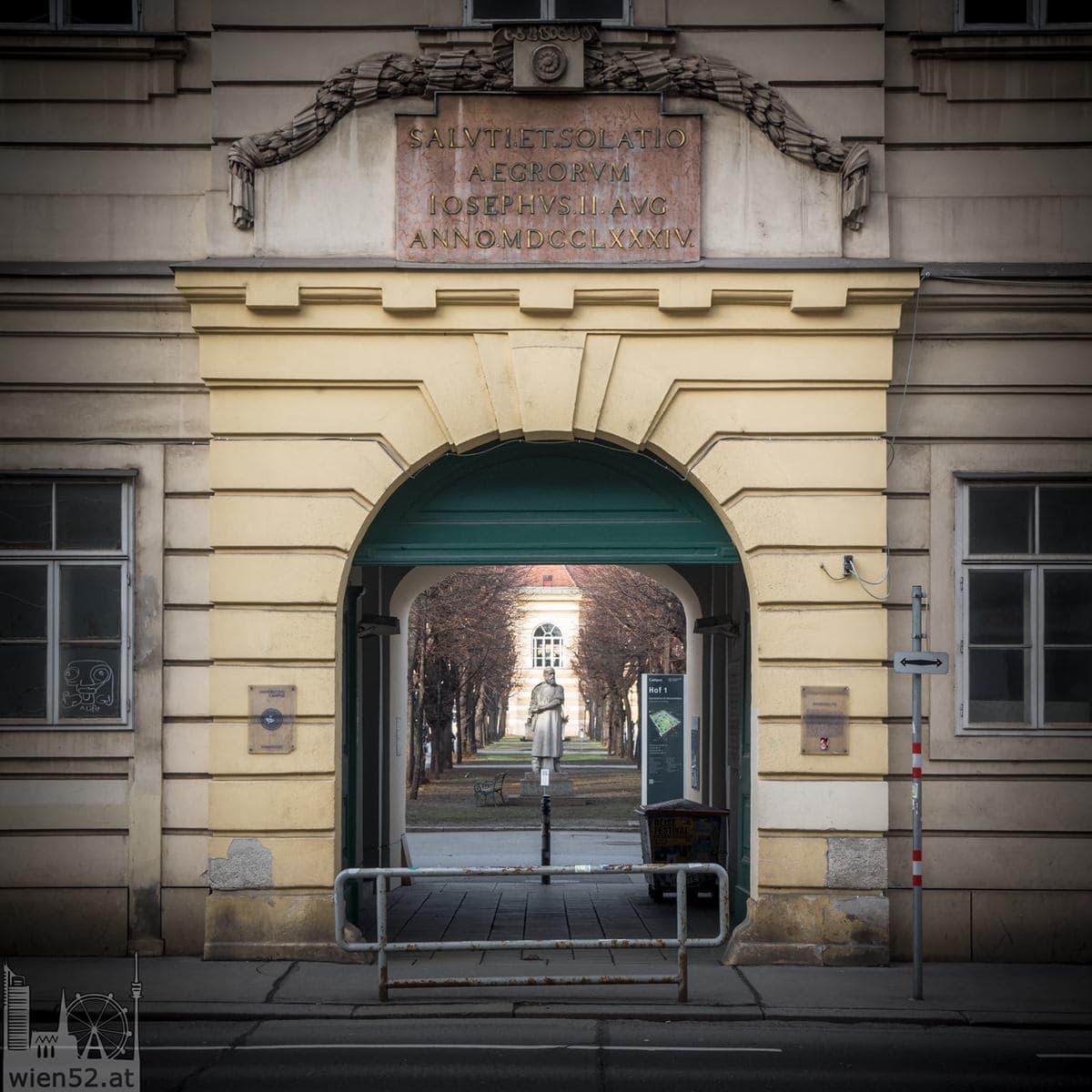 Sonnenfels-Tor  Altes AKH