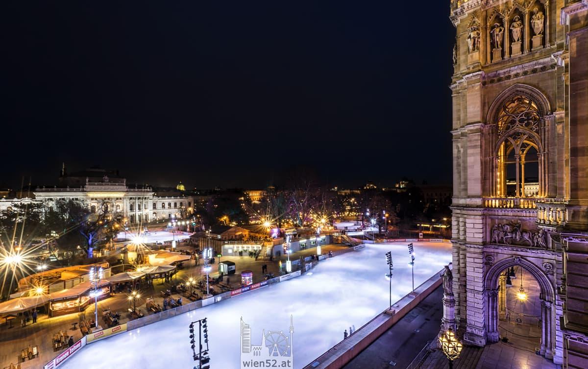 Wiener Eistraum  Rathausplatz