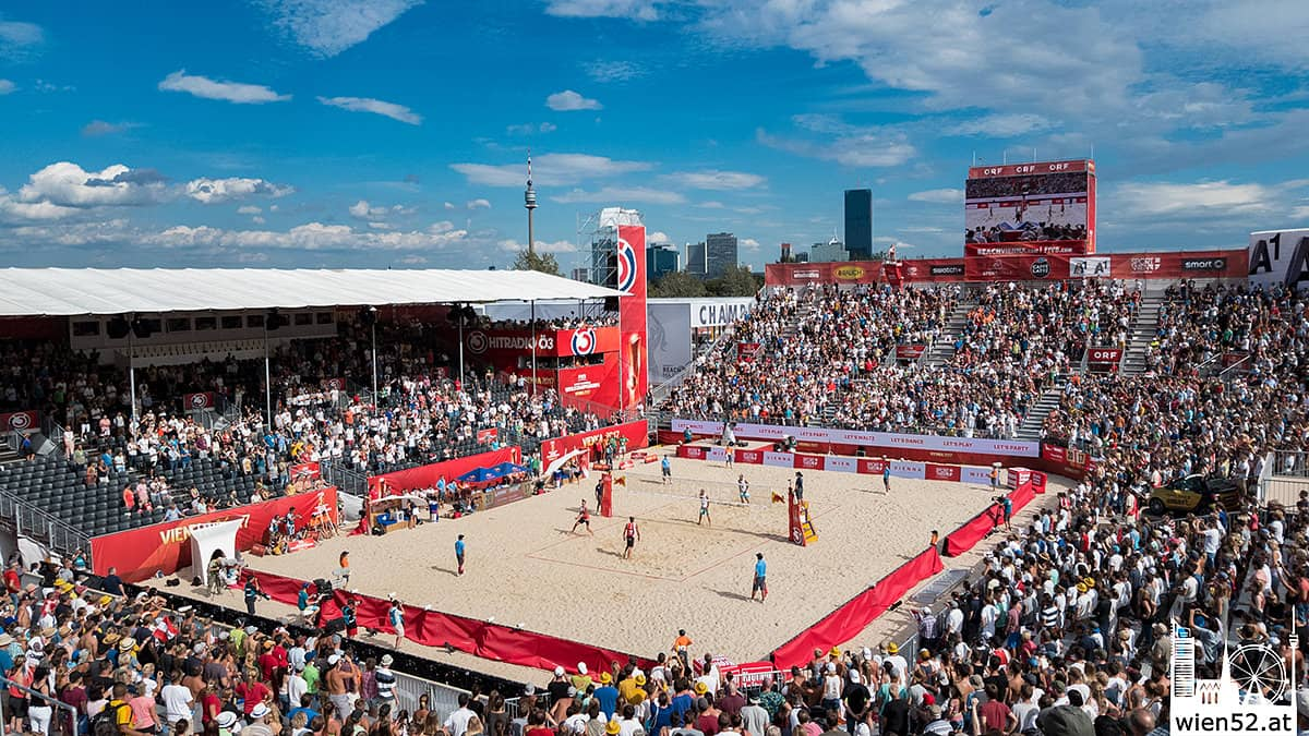 FIVB Beach Volleyball WM 2017 in Wien