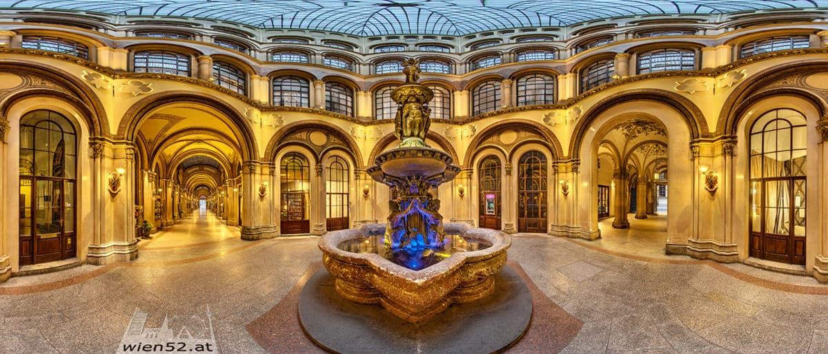 Basarhof im Palais Ferstel