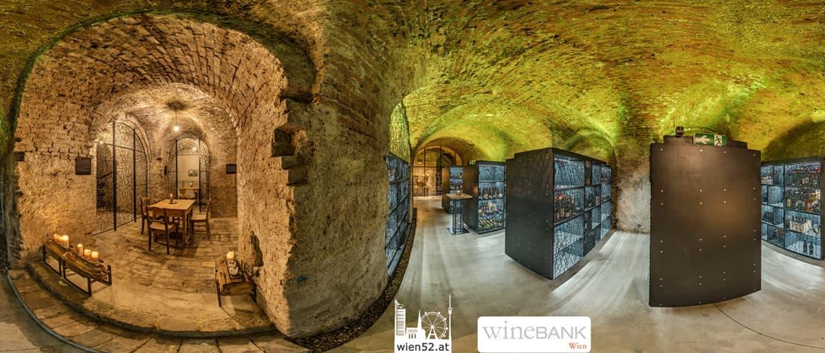 wineBANK Wien im Kipferlhaus