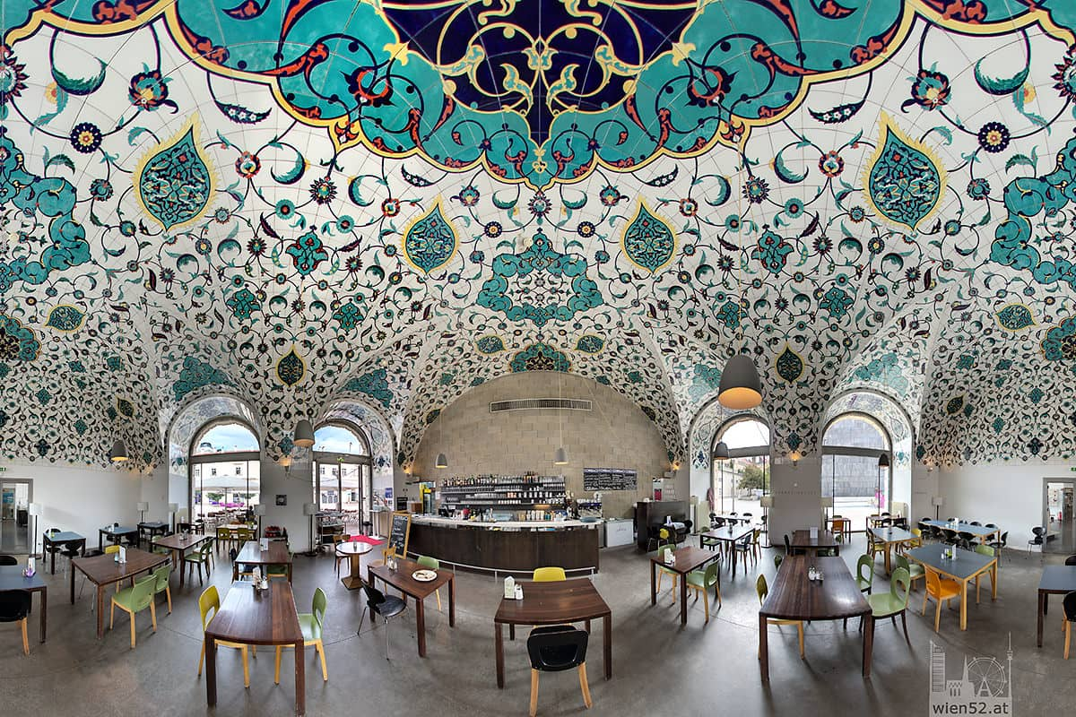Café Restaurant Corbaci im Architekturzentrum Wien