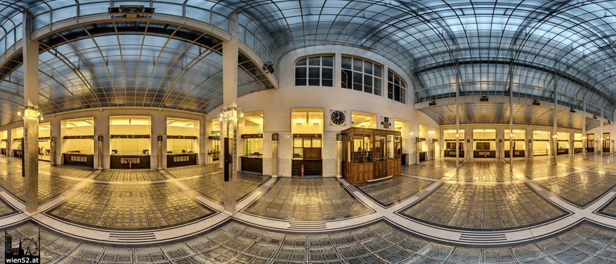 Grosser Kassensaal  Österreichische Postsparkasse