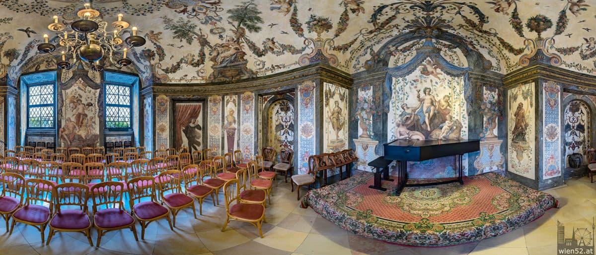 Sala Terrena im Deutschordenshaus, der älteste Konzertsaal Wiens