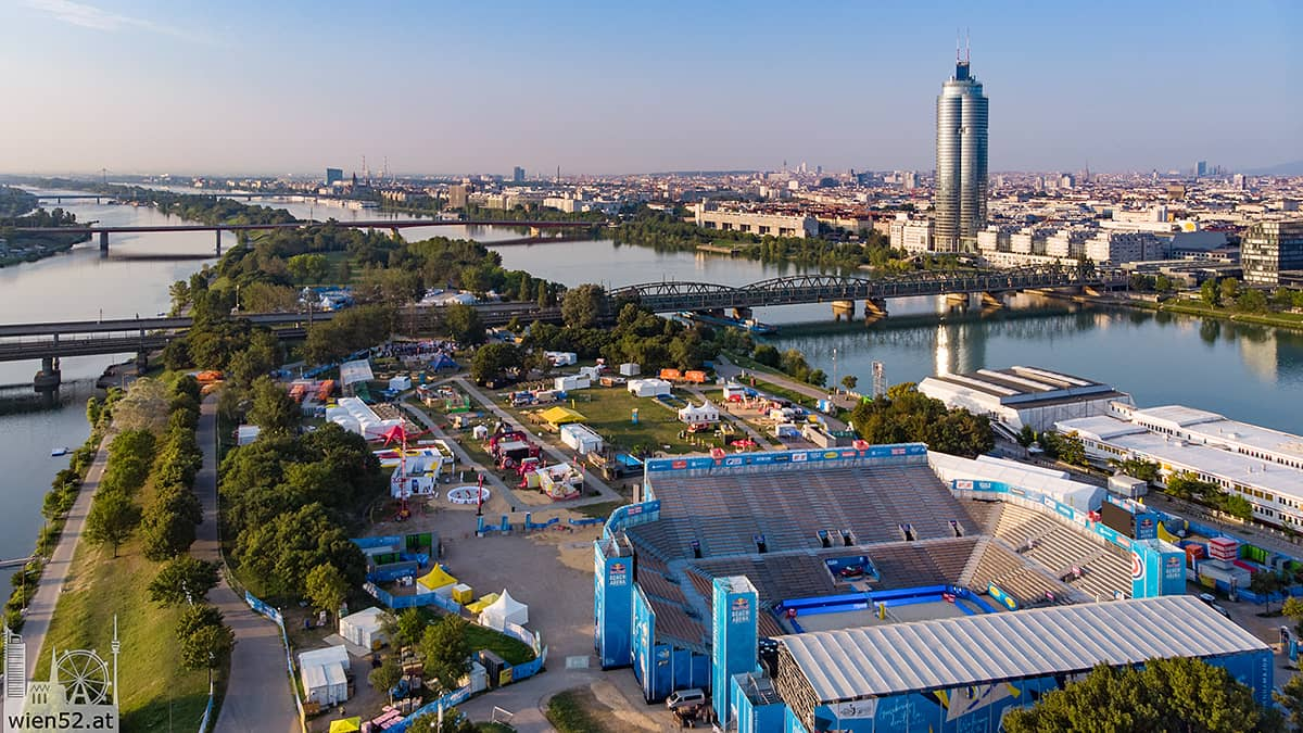 Vienna Major 2018  Donauinsel