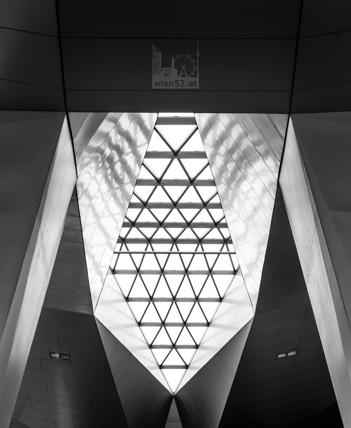 Bahnsteigüberdachung  Wien Hauptbahnhof