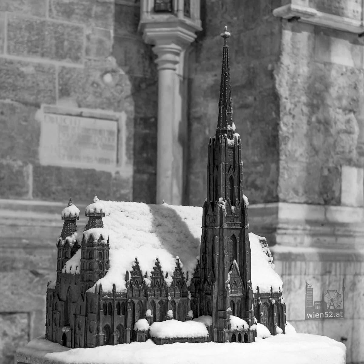 Der kleine Steffl im Schnee