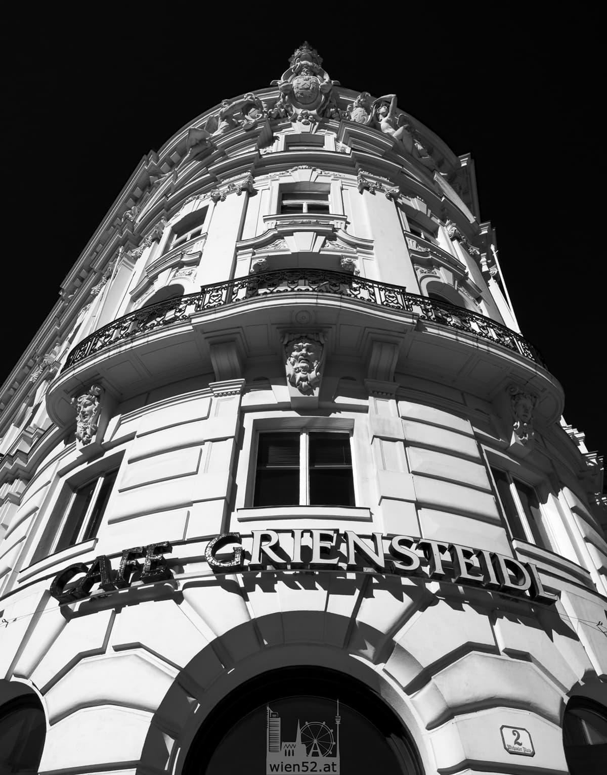 Ehemaliges Wiener Cafe Griensteidl