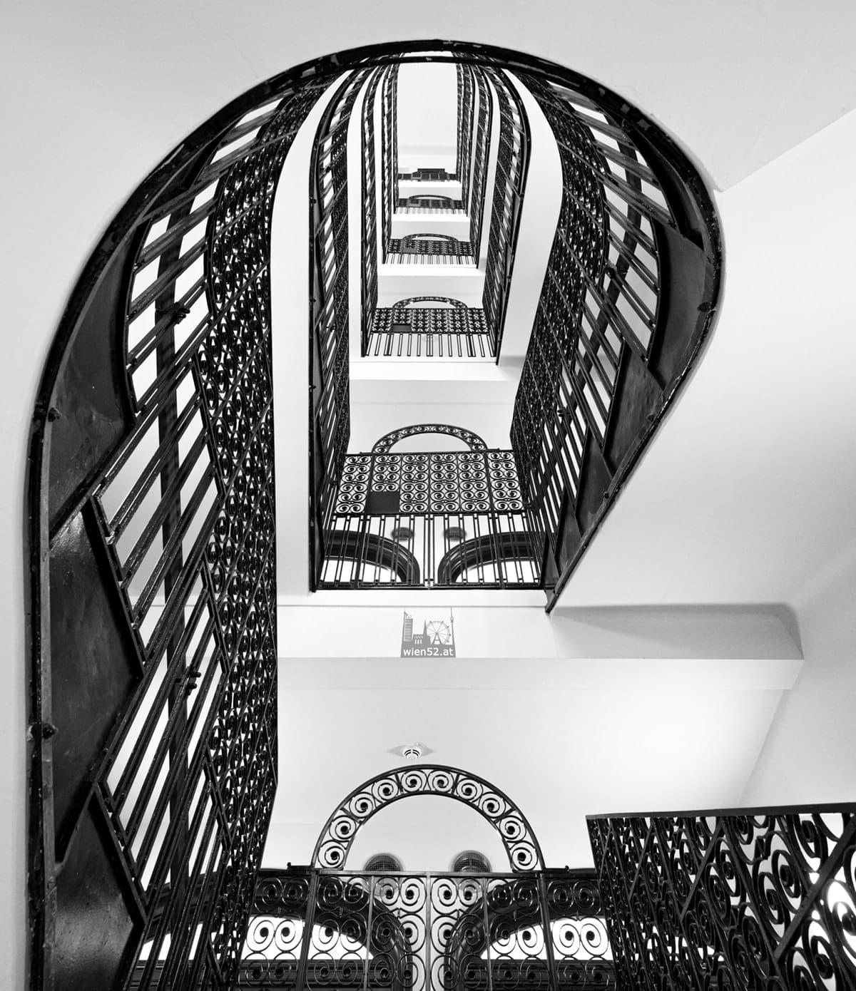 Stiegenhaus im Hotel